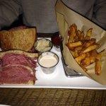 Corned Beef Sandwich & Homemade Fries