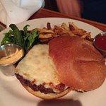 Salt burger and fries