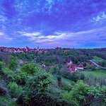 A view of Rothenburg, 10 minutes walk from the hotel