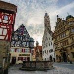 Rothenburg: Marktplatz is a 5 minute walk