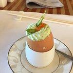 Egg with Lobster at St. Regis Brunch