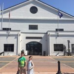 in front of National Museum of US Navy 05-19-2017
