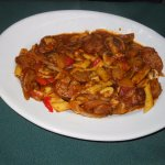 Italian Sausages and pasta