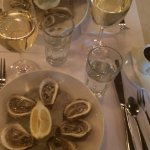 Oysters with chablis