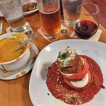 Eggplant Parmesan & Beer Cheese Soup
