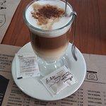 Cappuccino at La Despensa