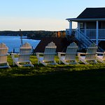 Lovely adirondack chairs with a fantastic view!