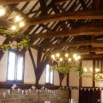 """The Great Hall - laid out for """"said"""" wedding"""