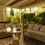 Gazebo area relax Hotel Saraceno