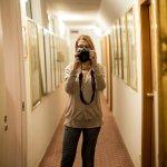 Corridoio interno Hotel Saraceno