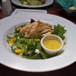 amazing mango chicken salad!