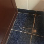 Lovely cracked tiles