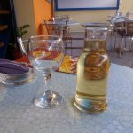 1/4 caraffe of local wine