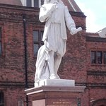 Andrew Marvell Statue, Holy Trinity Square, Hull