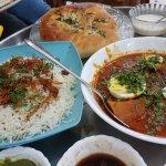Chicken Rosht with Jeera Rice & shirmal (5/5)