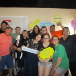 We escaped the Fear room! Saw didn't stand a chance :)