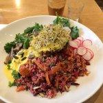 Plat : salade Soul Bowl (12£)