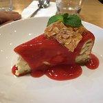 Dessert : cheesecake à l'anis (6,50£)