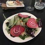 Starter, salad