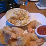 Gulf Shrimp, mac and cheese