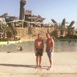 Yas water park. Great day out.