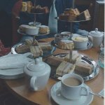 Traditional Dorset Afternoon Tea at the Lounge, the Royal Bath