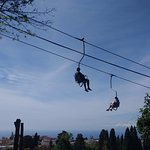 Chair lift from Anacapri