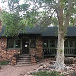 Phantom Ranch dining and check in site.