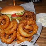 Tenderloin and onion rings