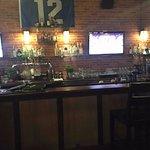 Sports TVs at the bar