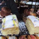 Lemon Cake with Lavender