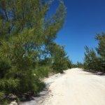On the way to Playa Paraiso Beach