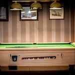 Pool Table in Lounge Bar