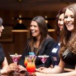 Cocktail Menu in Lounge Bar