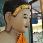 Un exemple de la très belle statuaire présente dans la pagode