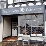 The Tudor Rose Tearooms.
