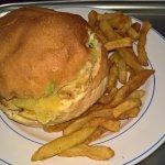 Burger Le Madras + Frites