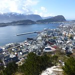 View over the town - Ålesund