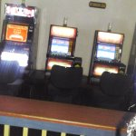 Slots behind where I sat