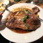 Longford lamb. Fabulous meal out
