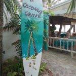 Coconut Grove restaurant entrance