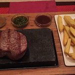 Really can't go wrong with the fillet steak.