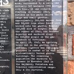 Memorials to Jewish Ghetto in Warsaw in WWII