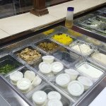 New salad bar