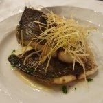pescado de la cena