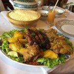 """Couscous """"Marrakech"""" pour 5 personnes, excellent !!!!"""