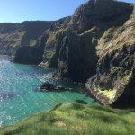Beautiful coastline of Ireland