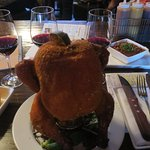 Beer can chicken, Pretty Huh