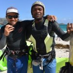 Kitesurf lessons radio coaching
