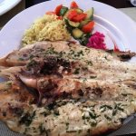 Delicious grilled grouper